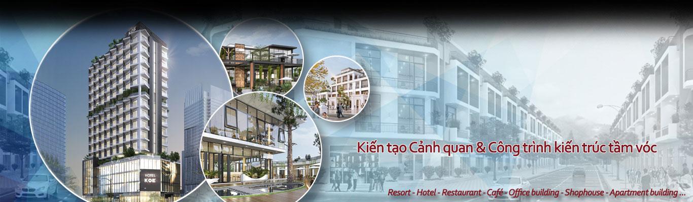 Quy hoạch - Thiết kế kiến trúc Khu đô thị